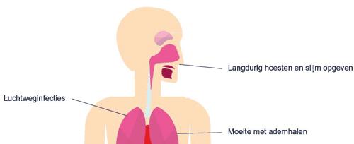 Luchtweginfecties, slijm in de longen