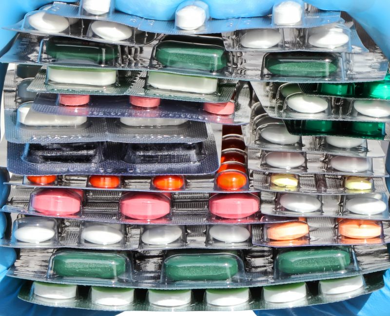 Pillen en medicijnen